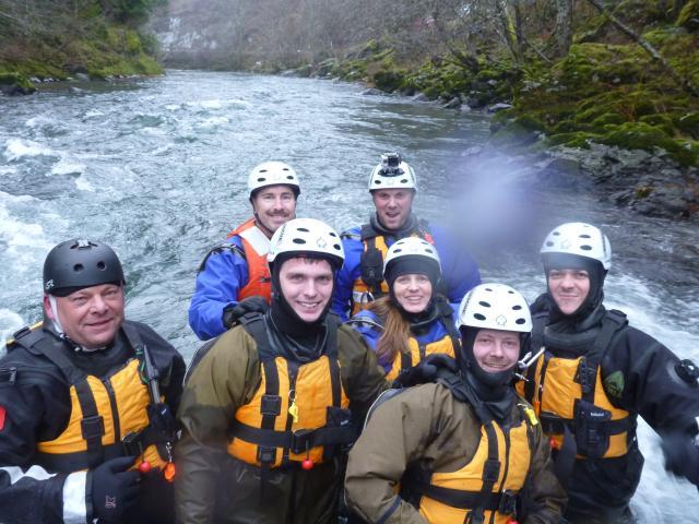 Swift water rescue team photo