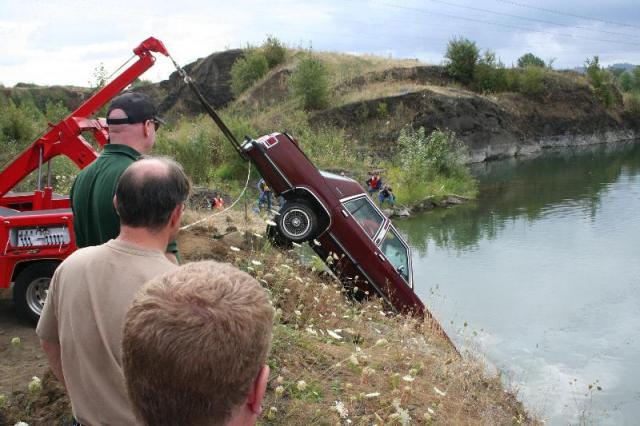 Underwater Crime Scene Class - Vehicle Recovery